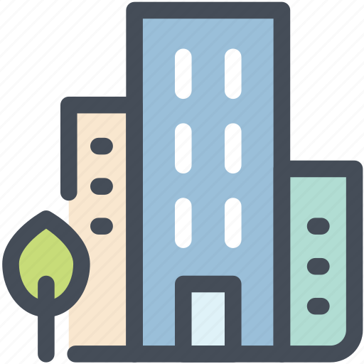 administrative, building, business, office, property, real estate, skyscaper icon