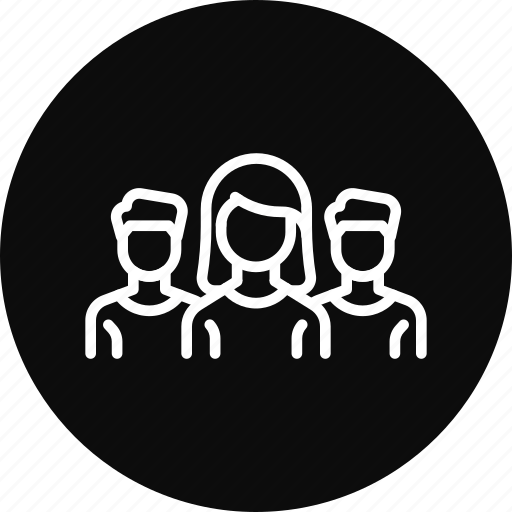 avatar, office, people, profession, team icon