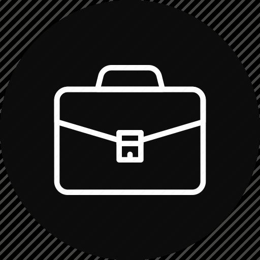 briefcase, case, job, portfolio, work icon