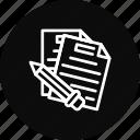 document, file, important, memo, report