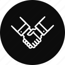 contract, deal, handshake, partnership
