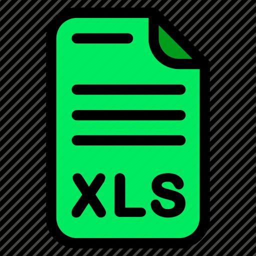 doc, document, excel, xls icon