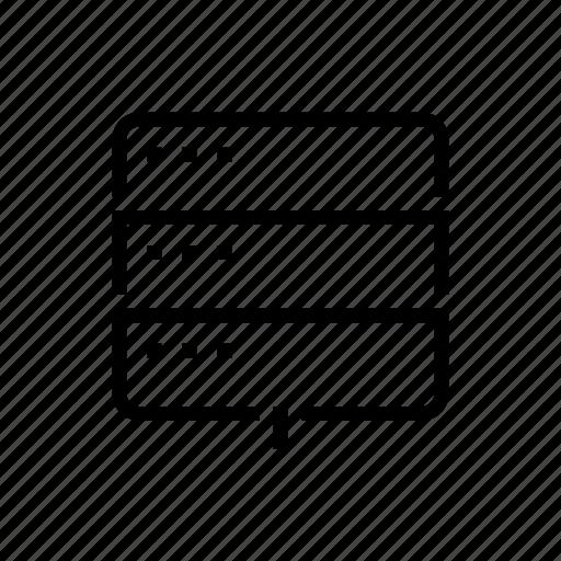 Data, office, server, storage icon - Download on Iconfinder