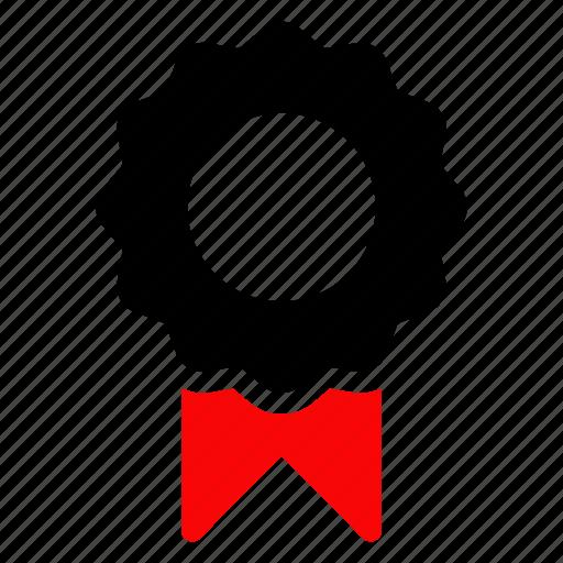 award, badge, certified, organic icon