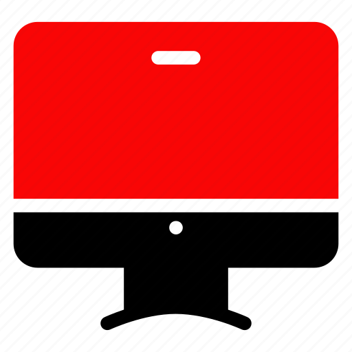 computer, desktop, screen, television icon