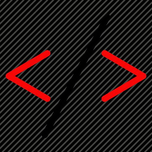 code, developers, development, script icon