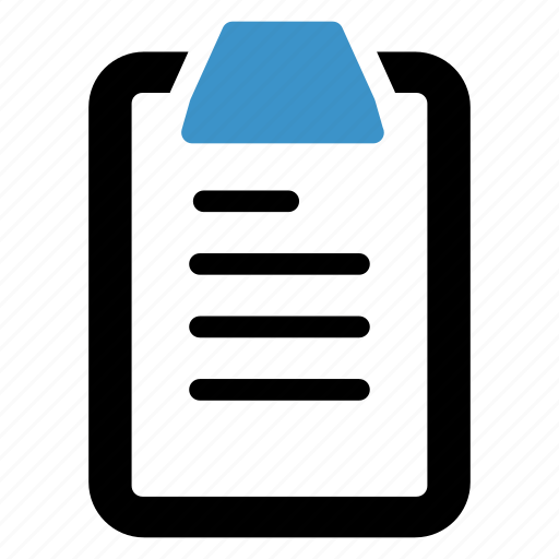 clipboard, management, messages, strategy icon