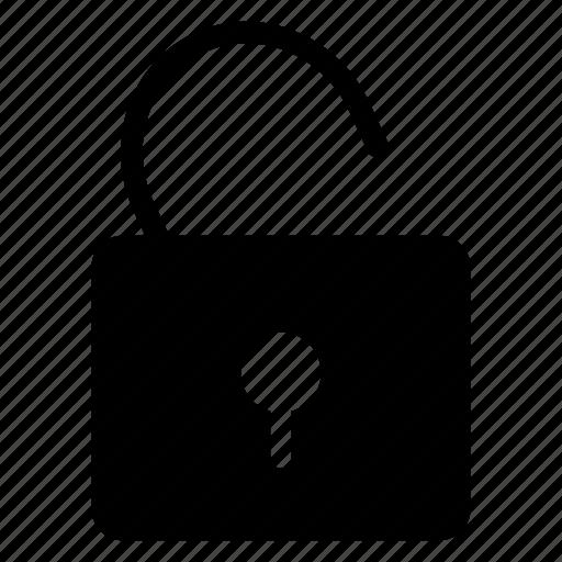 padlock, security, unlock, users icon
