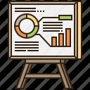 analysis, board, data, presentation, strategy
