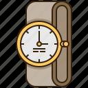 clock, fashion, time, watch, wristwatch icon