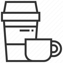 business, coffee, elements, equipment, office, tea icon