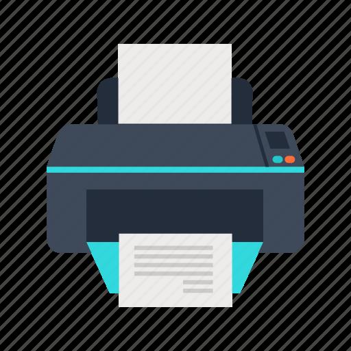 copy, device, office, paper, print, printer icon