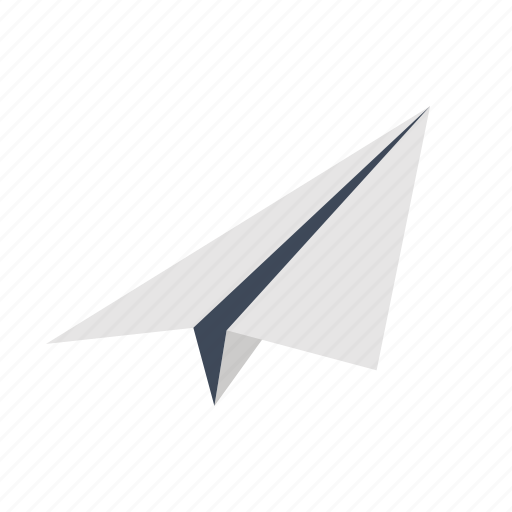 airplane, internet, marketing, message, office, paper, plane icon