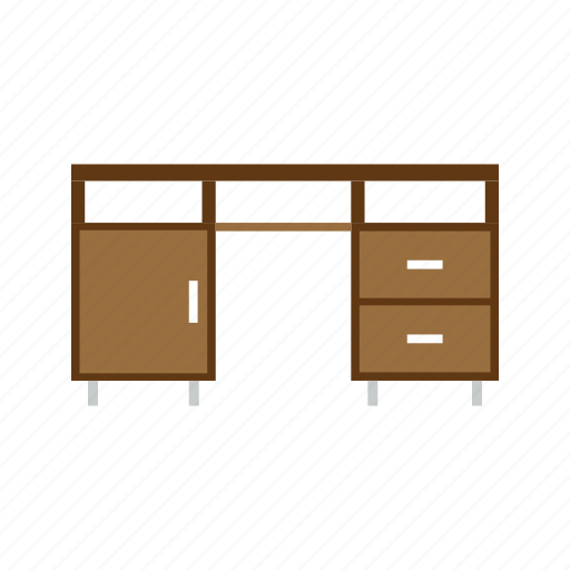 desk, furniture, house, office, table icon