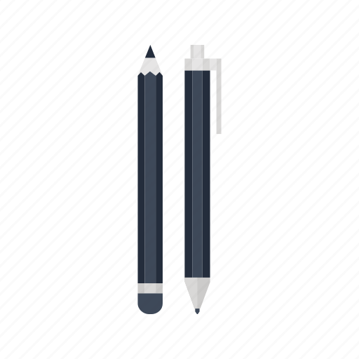 edit, office, pen, pencil, sign, stationery, write icon