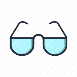 education, eyeglasses, glasses, office, reading icon
