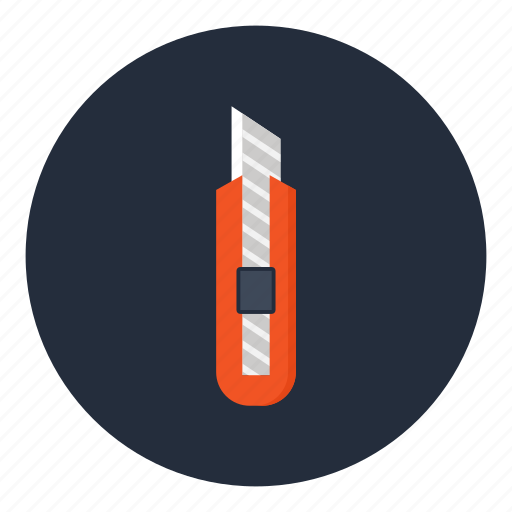 box, cutter, knife, office, stationery, tool, utensil icon