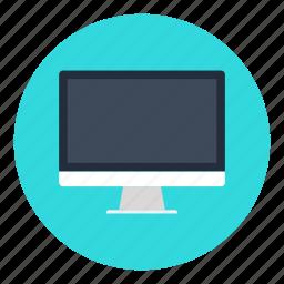 computer, desktop, mac, monitor, office, pc, personal icon