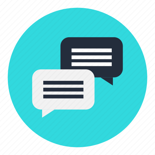 chat, conversation, dialogue, interaction, office icon