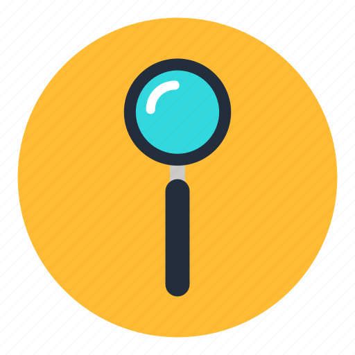 glass, magnifier, magnifying, office, search, zoom icon