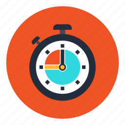 clock, efficiency, measure, office, stopwatch, timer, watch icon