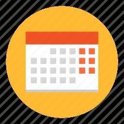 calendar, date, deadline, event, office, schedule icon
