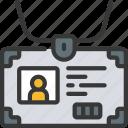 id, card, workplace, identification