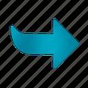 arrow, blue, next, office, operation, program