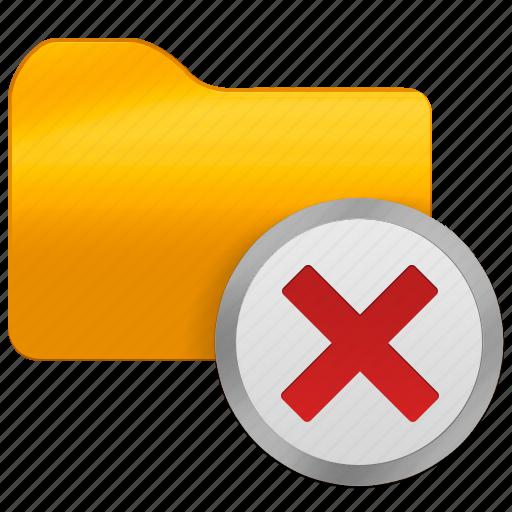cut, delete, folder, office icon