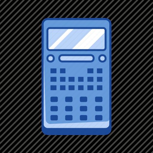 accounting, calculator, math, school icon