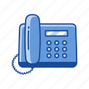 communication, landline, phone, telephone icon