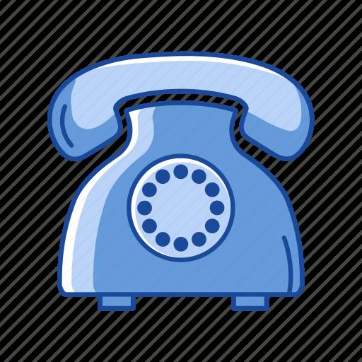 Communication, landline, message, telephone icon - Download on Iconfinder