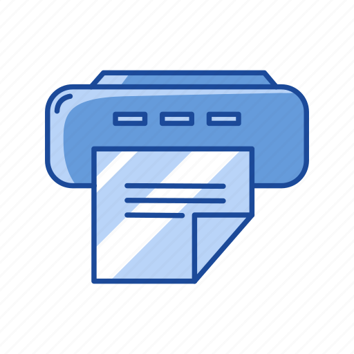 document, photocopy, print file, printer icon