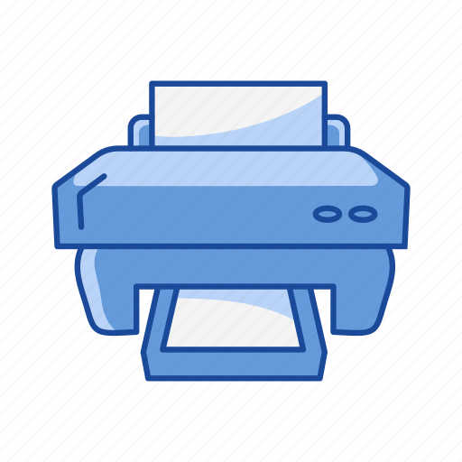 document, photocopy, print, printer icon