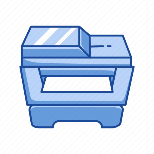 document, photocopy, printer, scanner icon