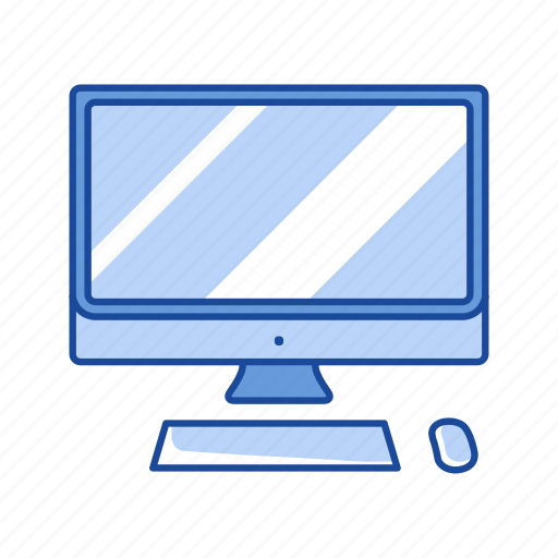 computer, mac, monitor, personal computer icon