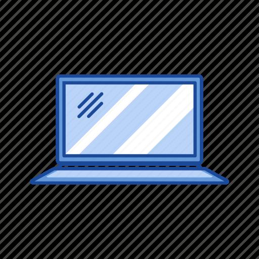 internet, laptop, mac, personal computer icon