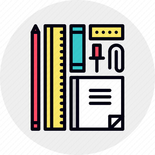 office, stationery, supplies icon