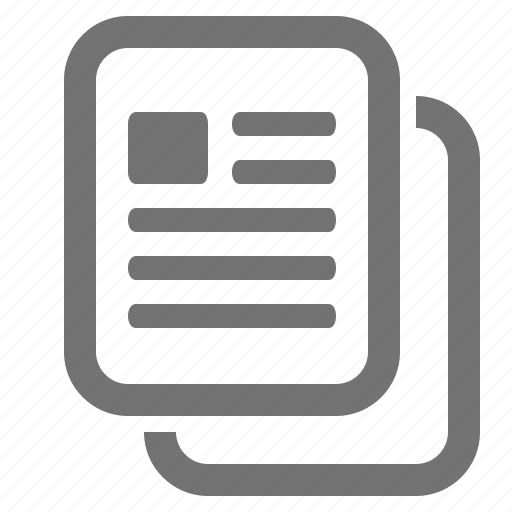 copy, data, document, duplicate, file, picture, text icon