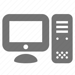 computer, desktop, display, monitor, pc, system icon