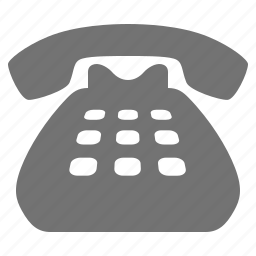 call, classic, comunication, contact, dial, landline, phone icon