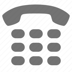 call, communication, contact, dial, keyboard, phone icon