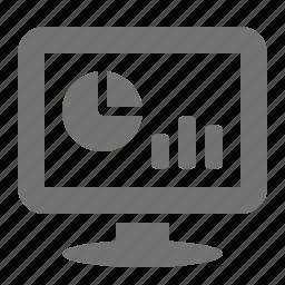 analytics, chart, display, graph, marketing, seo, statistics icon