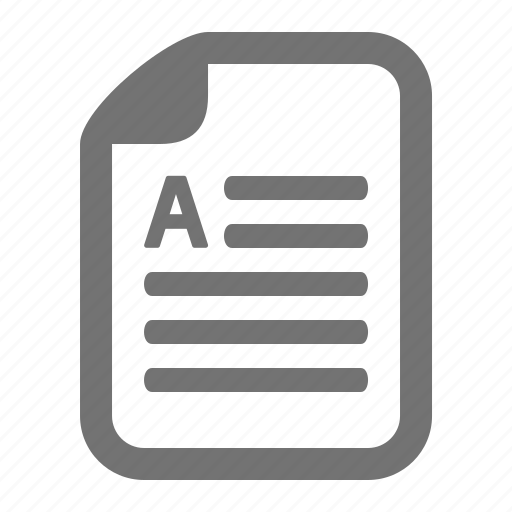 doc, document, file, letter, text, word icon