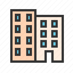 architecture, building, buildings, business, construction, design, office icon