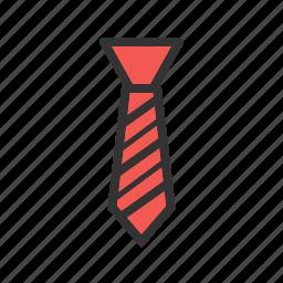 color, fashion, neck, necktie, office, shades, tie icon
