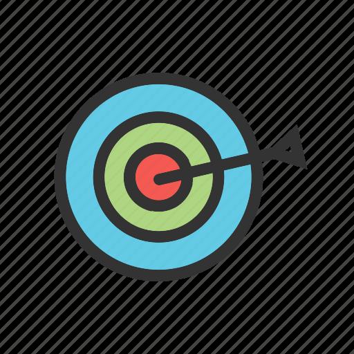 Board, bullseye, dart, dartboard, darts, goal, target icon - Download on Iconfinder