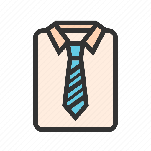 business, businessman, man, shirt, suit, tie, work icon