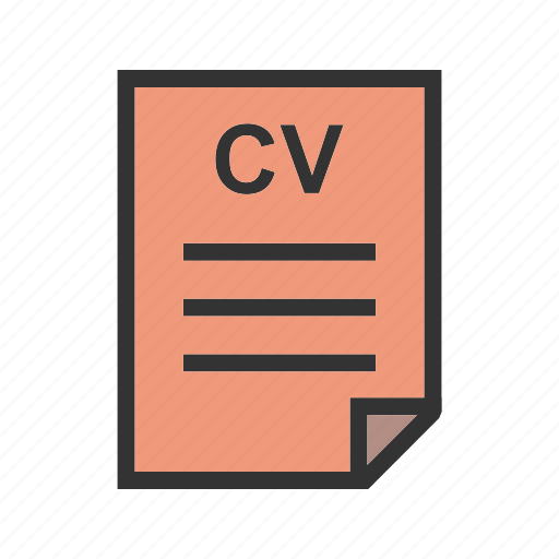 application, business, company, letter, office, paper, recruitment icon