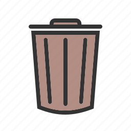 can, clean, container, dustbin, environment, recycle, waste icon